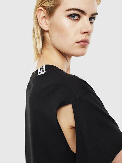 Diesel - T-SHALIE, Black - T-Shirts - Image 5