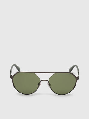DL0324, Black/Green - Sunglasses