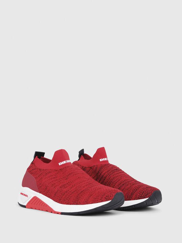 Diesel - S-KB ATHL SOCK, Red - Sneakers - Image 2