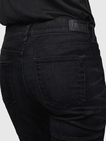Diesel - D-Ebbey 0091I, Black/Dark grey - Jeans - Image 5