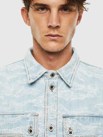 Diesel - D-JESSY, Light Blue - Denim Shirts - Image 3