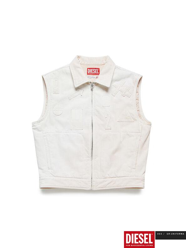 GR02-J303, White - Denim Jackets