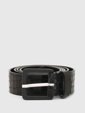 B-CROCLE, Black - Belts