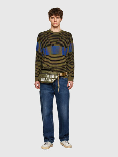 Diesel - K-BALTIC, Blue/Green - Knitwear - Image 5