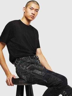 T-TOMI, Black - T-Shirts