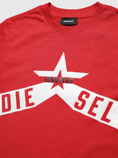 Diesel - TDIEGOA7, Red - T-shirts and Tops - Image 3