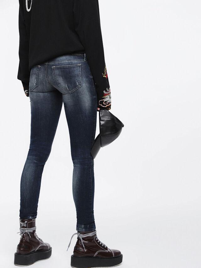 Diesel Skinzee Low 0684D, Dark Blue - Jeans - Image 2