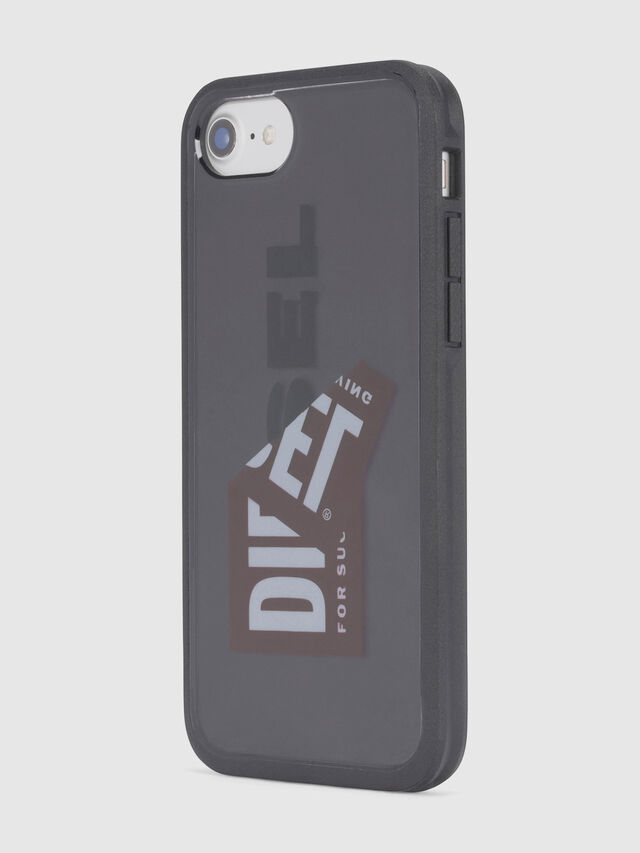 Diesel STICKER IPHONE 8/7/6S/6 CASE, Black - Cases - Image 4