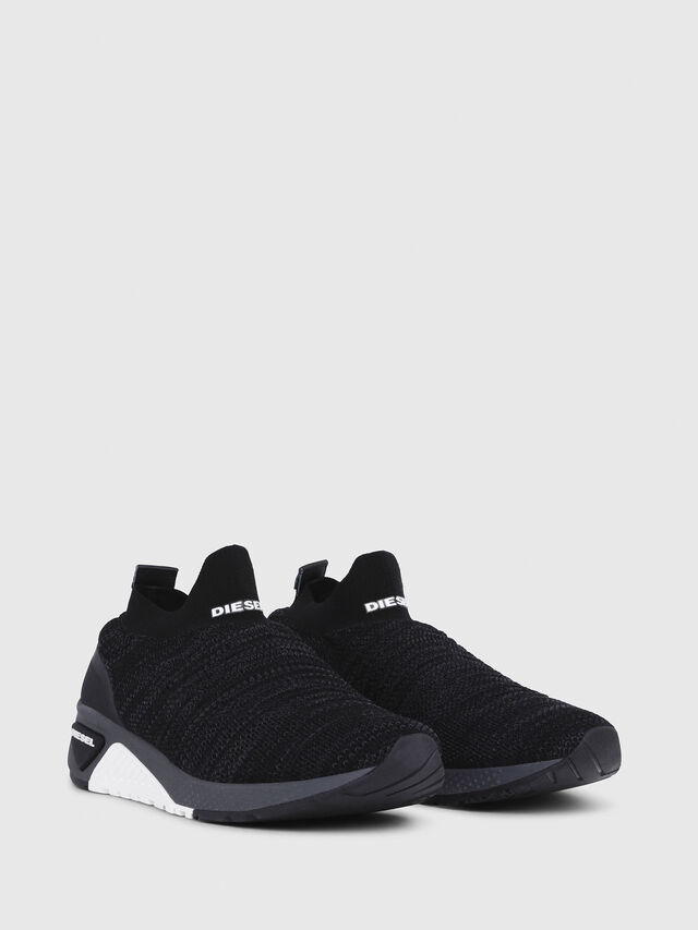 Diesel - S-KB ATHL SOCK, Black - Sneakers - Image 2