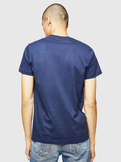Diesel - T-DIEGO-B4, Blue - T-Shirts - Image 2