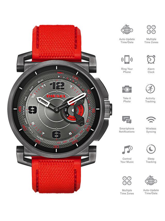 Diesel - DT1005, Red - Smartwatches - Image 1