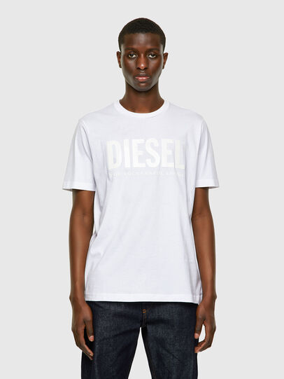 Diesel - T-JUST-INLOGO, White - T-Shirts - Image 1