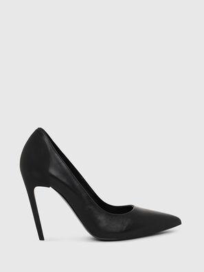 D-SLANTY HH, Black - Heels