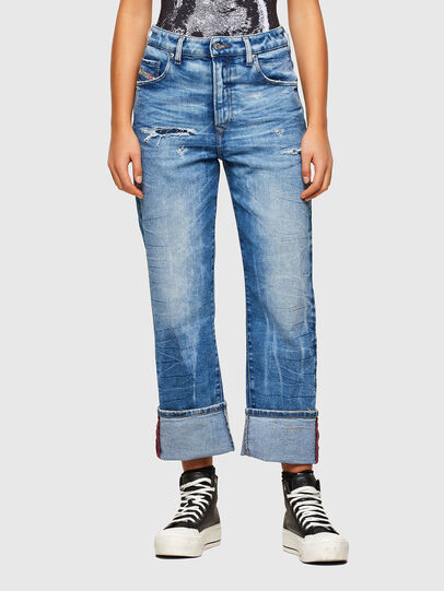 Diesel - D-Reggy 009MV, Light Blue - Jeans - Image 1