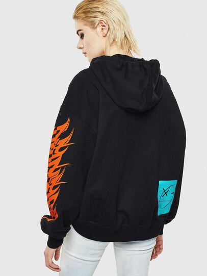 Diesel - F-KREEN, Black - Sweaters - Image 2