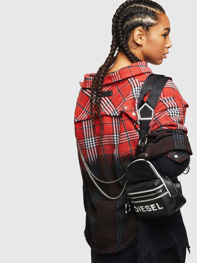 Diesel - ZANE', Black/White - Backpacks - Image 6
