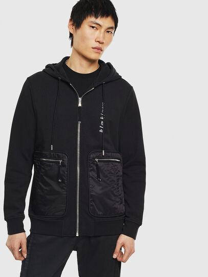 Diesel - S-SKRA, Black - Sweaters - Image 1