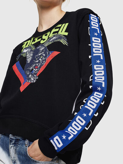 Diesel - F-LYANYDY, Black - Sweaters - Image 5