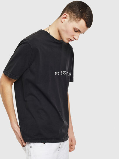 Diesel - T-JUST-T12, Black - T-Shirts - Image 4