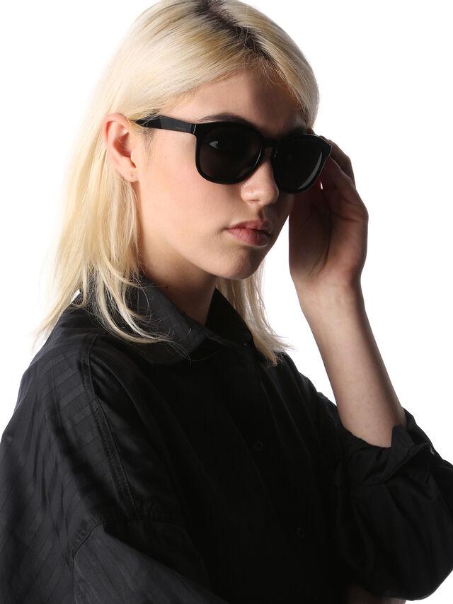 Diesel DM0190, Black - Eyewear - Image 5