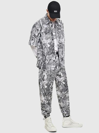 Diesel - P-TOLL-KAOS, Black/White - Pants - Image 7