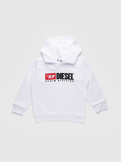 Diesel - SDIVISION OVER, White - Sweaters - Image 1