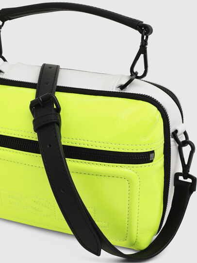 Diesel - FUTURAH, Yellow Fluo - Crossbody Bags - Image 4