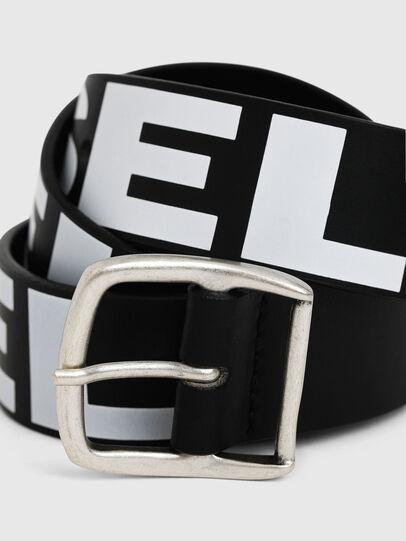 Diesel - BARBAR, Black/White - Belts - Image 2