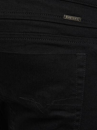 Diesel - D-Bazer 0688H, Black/Dark grey - Jeans - Image 4
