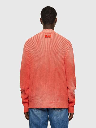 Diesel - K-KENTUCKY ZIP, Pink - Knitwear - Image 2
