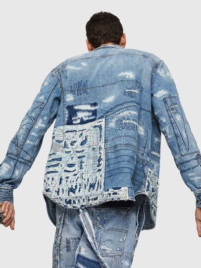 Diesel - D-HISAKY-SY, Blue Jeans - Denim Shirts - Image 2