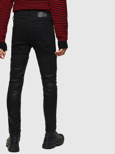 Diesel - D-Strukt 0091W, Black/Dark grey - Jeans - Image 2