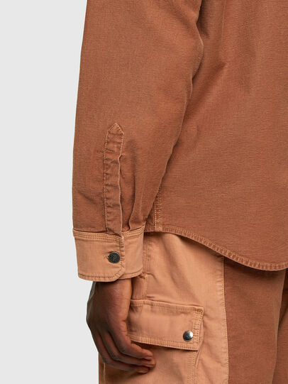 Diesel - D-CORUS-SP JOGGJEANS, Brown - Denim Shirts - Image 6