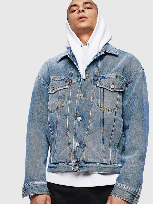 D-BRISTY, Light Blue - Denim Jackets
