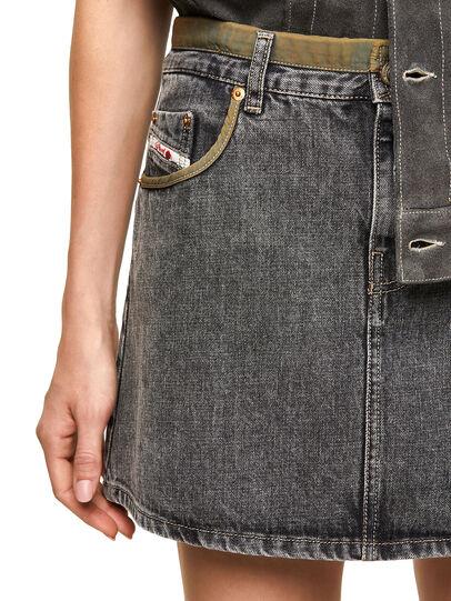 Diesel - DxD-SKIRT, Black - Skirts - Image 3