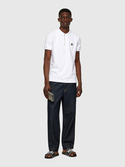 Diesel - T-HARRY, White - Polos - Image 4