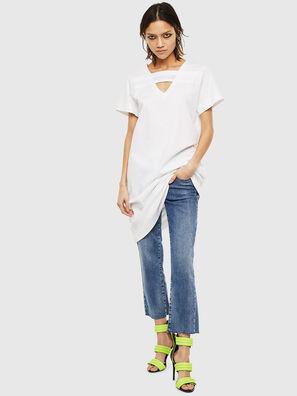 D-STRIPE, White - Dresses