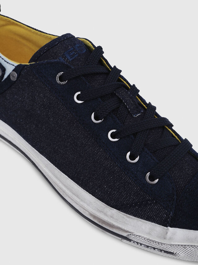 Diesel - EXPOSURE LOW I, Dark Blue - Sneakers - Image 4