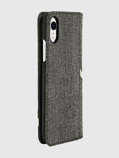 Diesel - DIESEL 2-IN-1 FOLIO CASE FOR IPHONE XR, Grey - Flip covers - Image 4