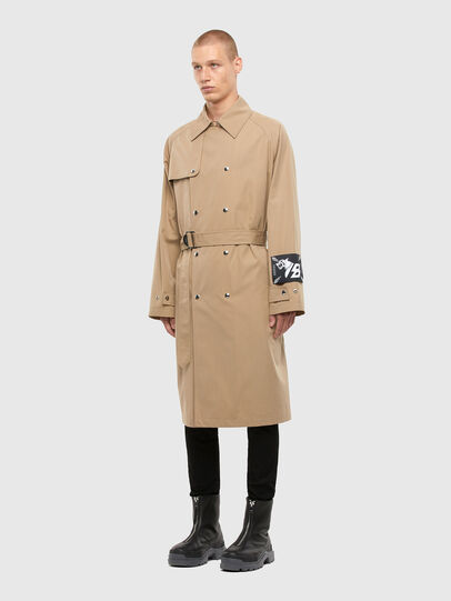 Diesel - J-JAY, Light Brown - Jackets - Image 7