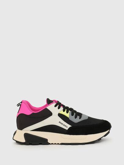 Diesel - S-TYCHE LOW CUT W, Black/Pink - Sneakers - Image 1