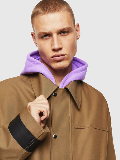 Diesel - J-ROBERT, Brown - Jackets - Image 3