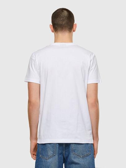 Diesel - T-DIEGOS-E32, White - T-Shirts - Image 2