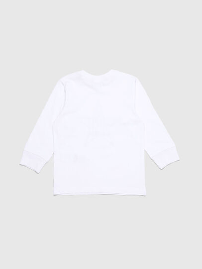Diesel - TDIEGOYHB-ML-R, White - T-shirts and Tops - Image 2