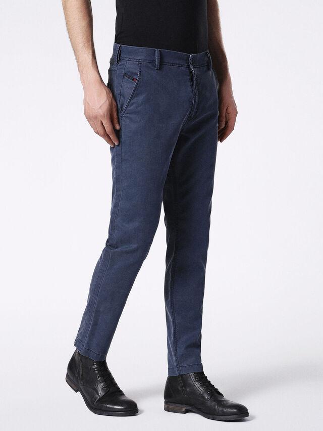 Diesel - SLIM-CHINO-M JOGGJEANS 0685E, Blue - Jeans - Image 3