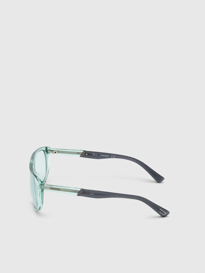 Diesel - DL0300, Light Blue - Sunglasses - Image 3