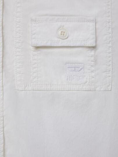 Diesel - S-ALLEN-KA, White - Shirts - Image 4