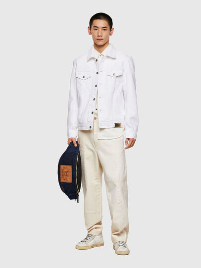 Diesel - NHILL-C1, White - Denim Jackets - Image 7