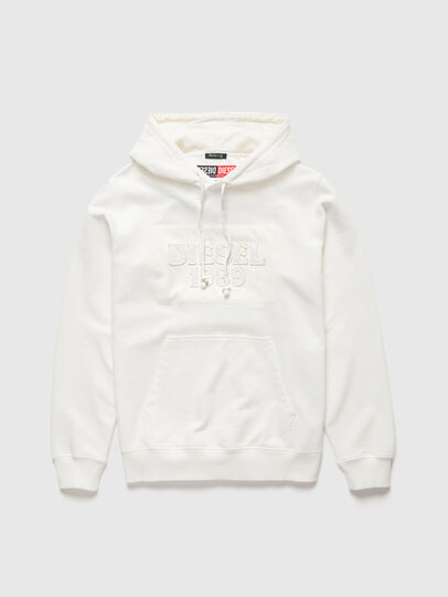 Diesel - DxD-21, White - Sweaters - Image 1