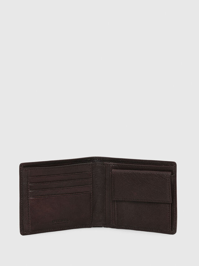 Diesel - HIRESH, Brown - Small Wallets - Image 3